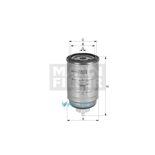 Fuel filter WK 82 [MANN]