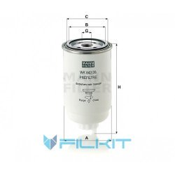 Fuel filter WK 842/26 [MANN]