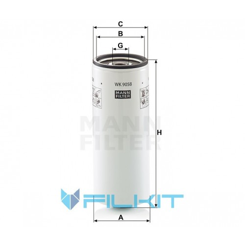 Fuel filter WK 9058 [MANN]