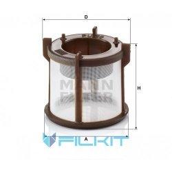 Fuel filter (insert) PU 50 z [MANN]