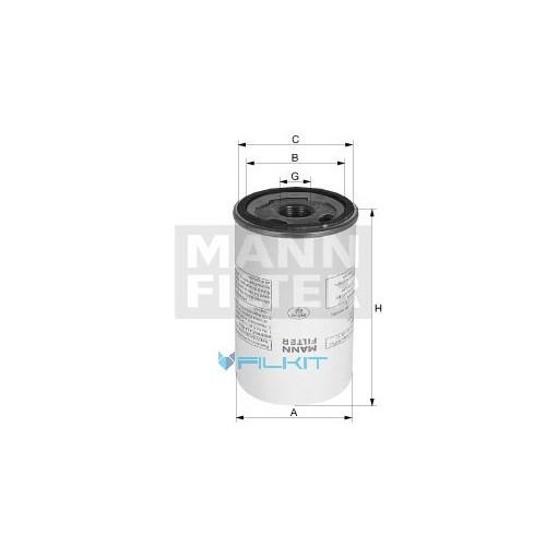 Фільтр повітряний (сепаратор) LB1374/2 MANN