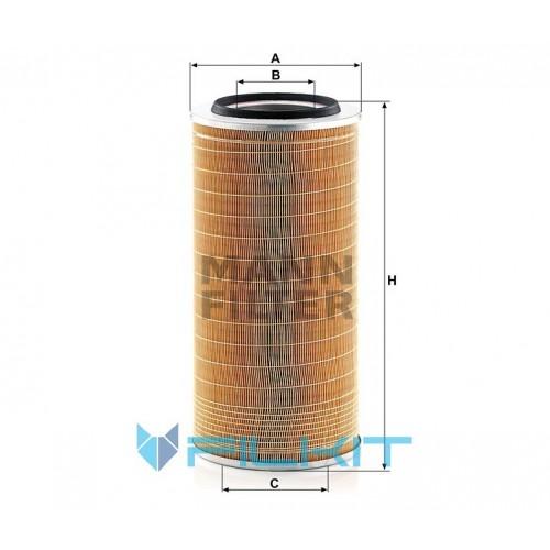Air filter C 24 650/8 [MANN]