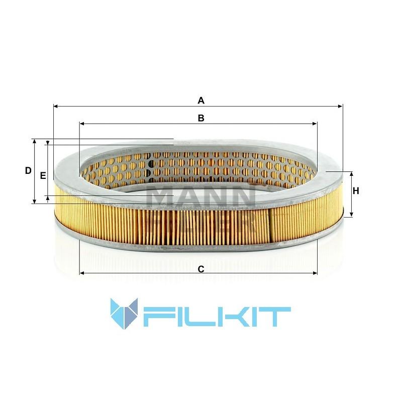 Air filter C 2943 [MANN]