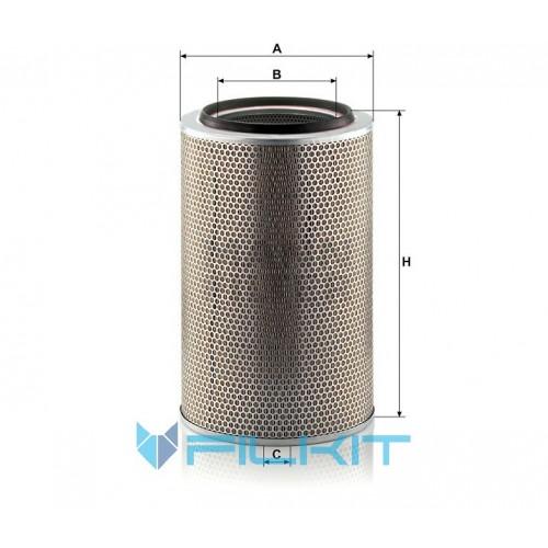 Air filter C 30 850/6 [MANN]