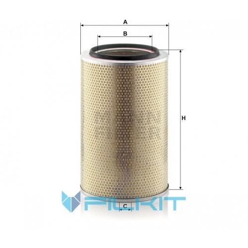 Air filter C 30 850/7 [MANN]