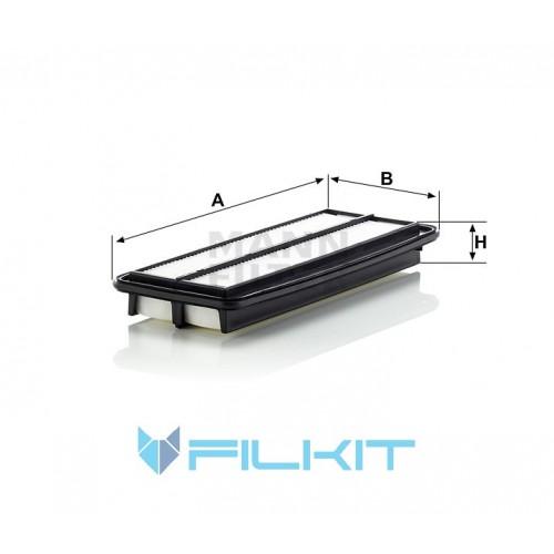 Air filter C 35 008 [MANN]