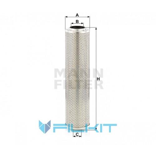 Hydraulic filter (insert) H 12 014 x [MANN]