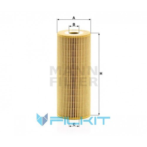 Oil filter (insert) HU 947/1 n [MANN]