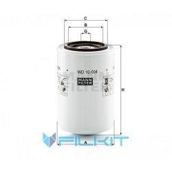 Hydraulic filter WD 10 004 [MANN]